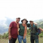 Niraj, happy climber, Parshuram our mountain guide