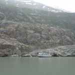 Anchored in Tracy Arm