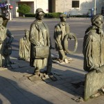 """Street art - """"Transitions"""". A people rising"""
