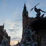Neptune Fountain and Town Hall