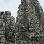 Smiling faces of Bayon Temple.
