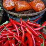 Cambodians love peppers, the smaller the hotter.