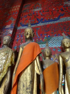 Dusty Buddhas of Wat Xieng Thong
